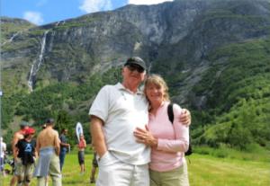 Tony Urgallo and wife