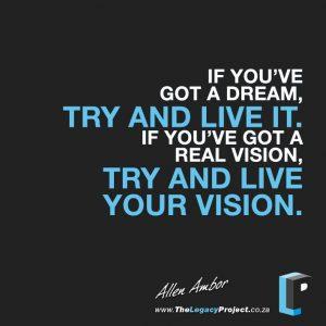 Allen Ambor quote pic 1
