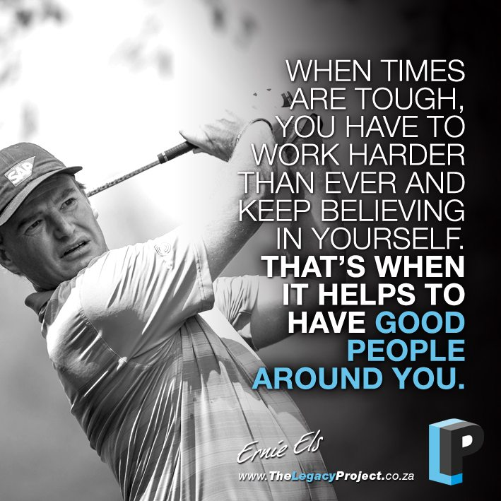 Golf And Life Quotes Fair Ernie Els  Professional Golfer And Entrepreneur Successness