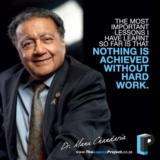 Dr Manu Chandaria