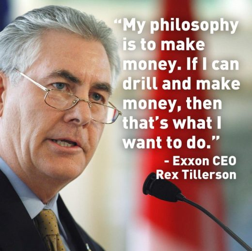 Quotes From Rex Tillerson
